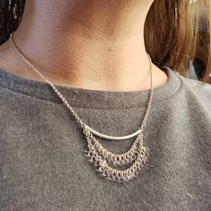 3 for $15 - Pink Crystal Necklace